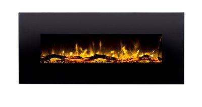 152cm Elektrische sfeerhaard 3 kleuren - Zwart
