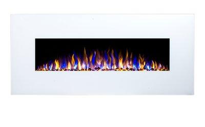 152cm Elektrische sfeerhaard 3 kleuren - Wit